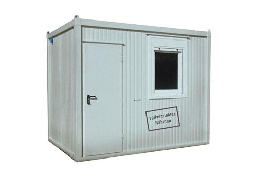 Büro und-Mannschaftscontainer Materialcontainer