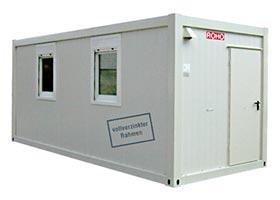 Baustellencontainer, Manschaftscontainer von ROHO bei Landesberger München