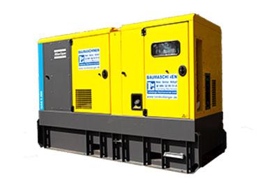 Stromaggregat Stromerzeuger Atlas Copco QAS 5 200 stationär bei Landesberger München